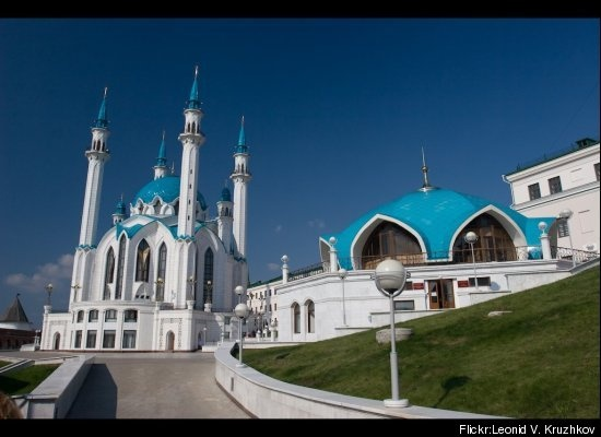Qol Sharif Mosque - Kazan Kremlin, Russia. Mashaa allah!