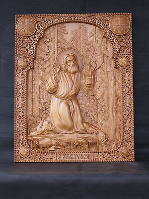 St Seraphim of Sarov / Image result for Orthodox - Carved Icons