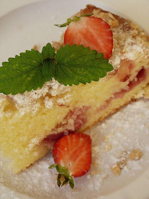 Kouzlo mého domova: Hrnkový jahodový koláč