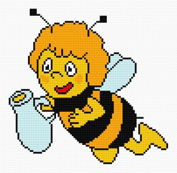 Maya (bee, fairy tale, for children, Gucio)