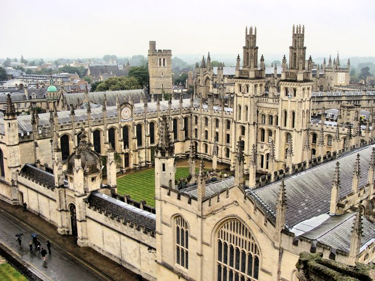 All Souls College — Oxford University, United Kingdom | 21 College Campuses That Make You Feel Like You're At Hogwarts