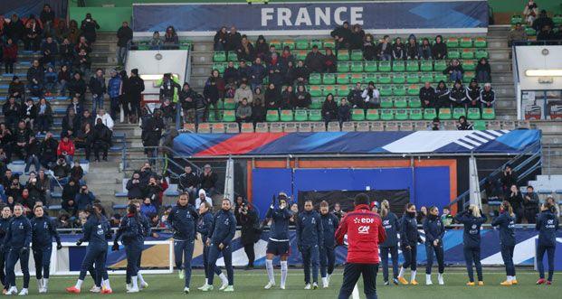 Equipes de France - Sommet franco-américain à Lorient - FFF