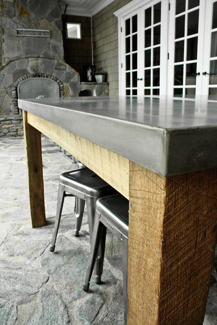 Best 25+ Concrete dining table ideas only on Pinterest | Concrete ...