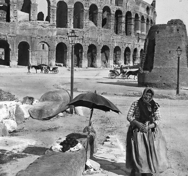 Colosseo e Meta sudans, 1885