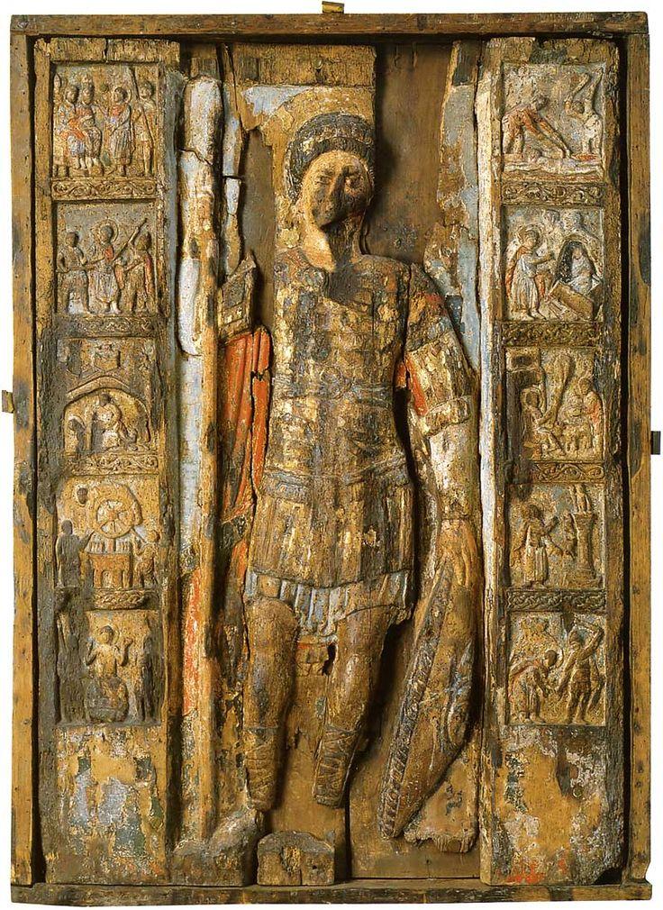 Святой Георгий с житием. Национальный художественный музей, Киев Конец XII — середина XIII вв.