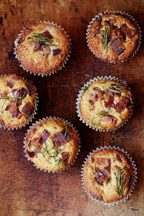 huckleberry Bacon cheddar muffins