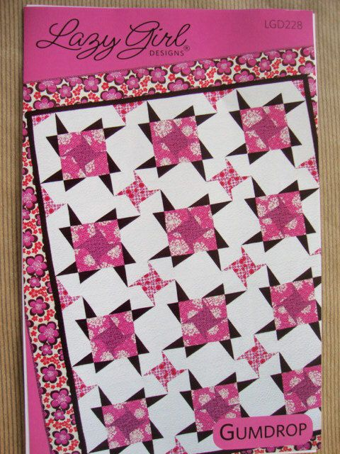 GUMDROP Quilt Pattern from Lazy Girl Designs, Easy Quilt ...