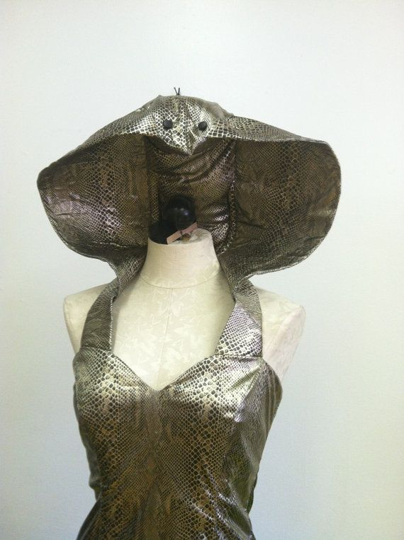 Cobra snake costume created by LOLITA ALONZO by lolitaalonzo                                                                                                                                                     More