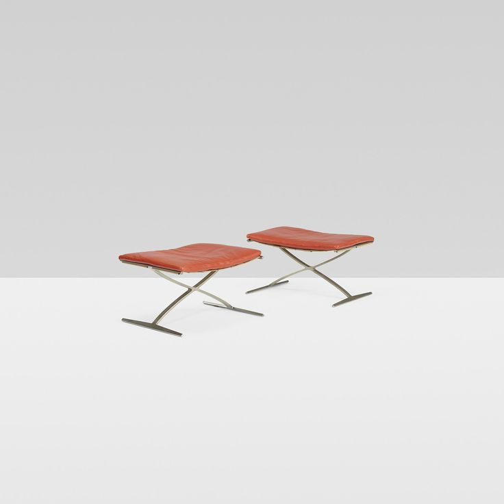 Designed by Preben Fabricius and Jørgen Kastholm. http://www.bo-ex.dk/project/stool/