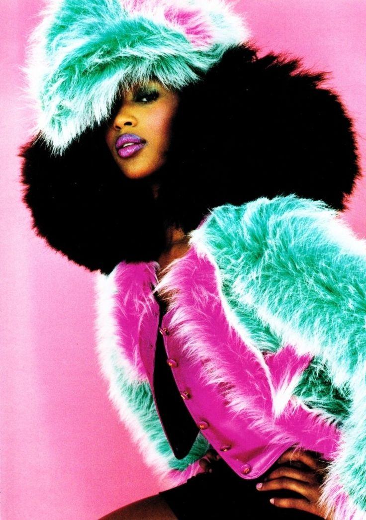 Vogue Paris Aug 1994 'Le Petit Fille' - Noami Campbell by Satoshi Saikusa