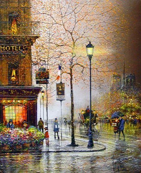 Guy Dessapt ( 1938 )  French painter
