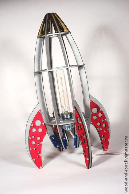 Освещение ручной работы. Ярмарка Мастеров - ручная работа Светильник Major Tom. Handmade.