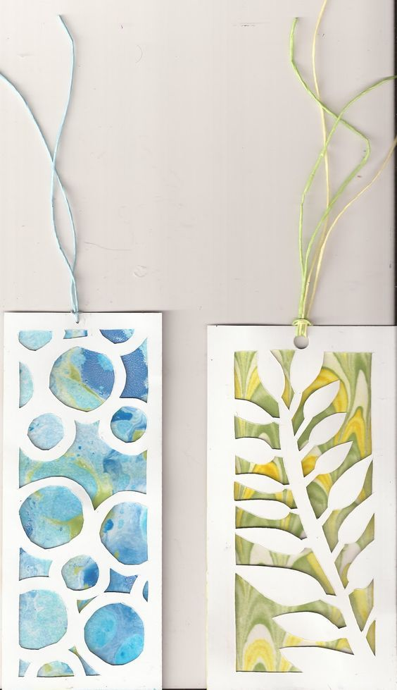 Here's another repeat of a quick, easy and fun swap. Make a bookmark - any style, any medium, any size. Paint i...