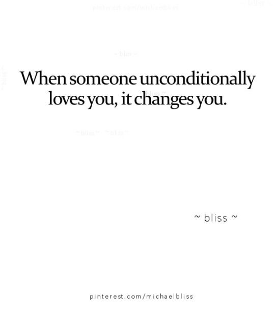~☆ unconditional. Love = no conditions so I will love you even when you do not need my wants or needs. I will let you be totally you, and love you anyway ☆~