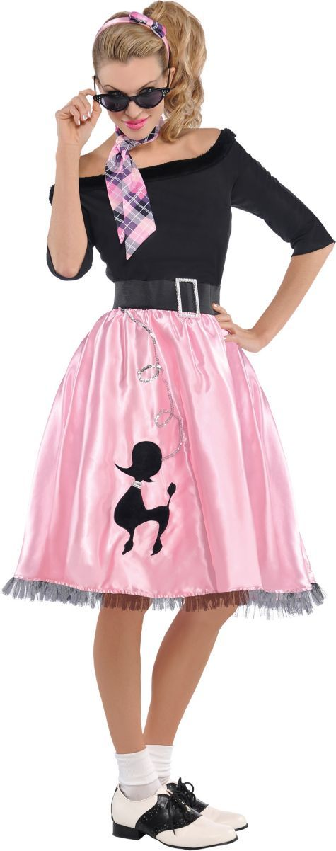 Adult Sock Hop Sweetie 50s Costume - Party City