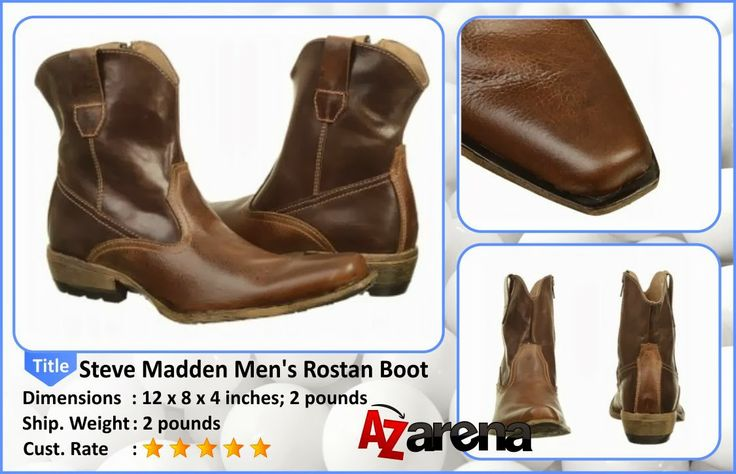 """Steve Madden Men's Rostan Boot 