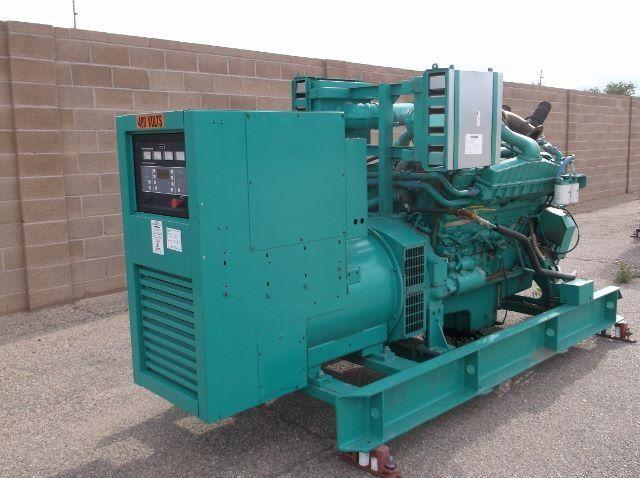 Cummins Power Generation VT28-G Diesel Generator Set available on GovLiquidation!