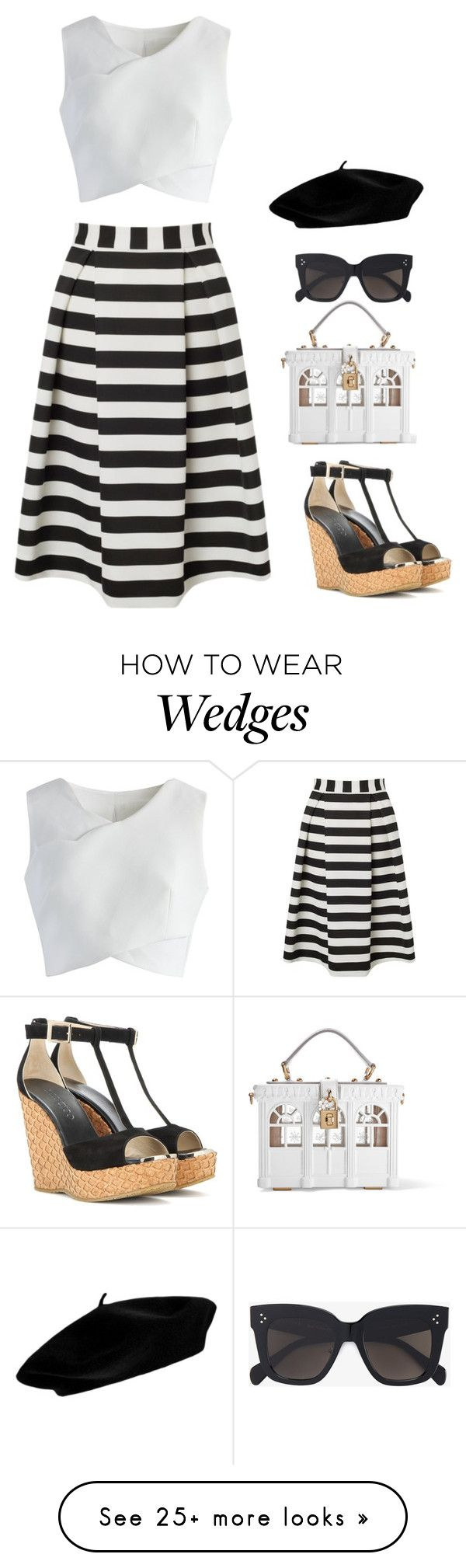 """""""Untitled #765"""" by mamabear558 on Polyvore featuring Lipsy, Chicwish, Jimmy Choo, Dolce&Gabbana and CÉLINE"""