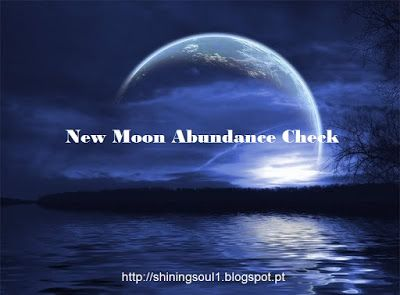ShiningSoul: New Moon Abundance Check #May / Cheque da Abundânc...