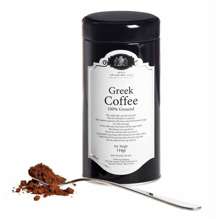 Traditional Greek Coffee
