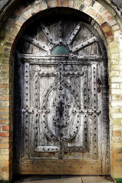 ~Anglesey Abbey door, Wales, UK