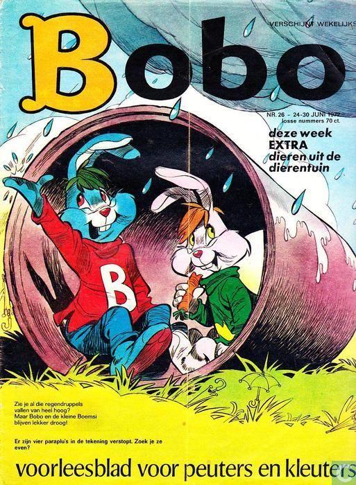Bobo-voorleesblad voor peuters en kleuters