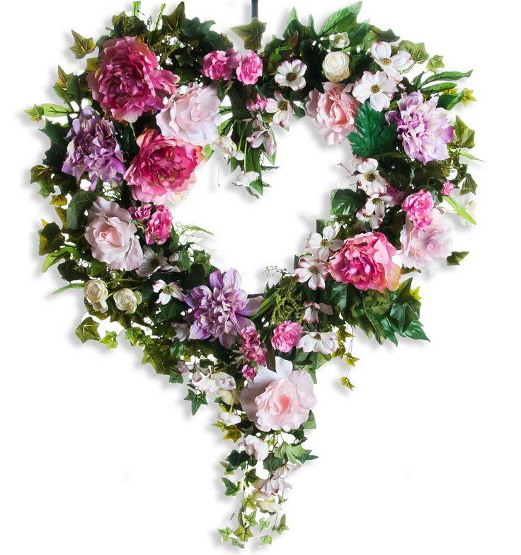 Tender Hearts Wreath