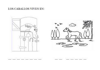 Piruleta colorines: PROYECTO LOS CABALLOS