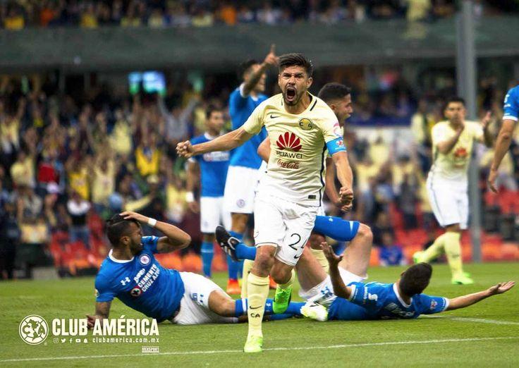 Club America use Cruz Azul as a rebound