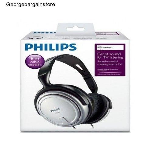 Indoor Headphones Corded TV Headphone Stereo Sound Quality  Earphone Hifi Cable