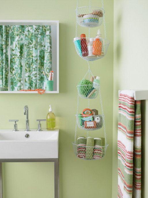 53 bathroom organizing and storage ideas photos for for Decoracion hogar joven