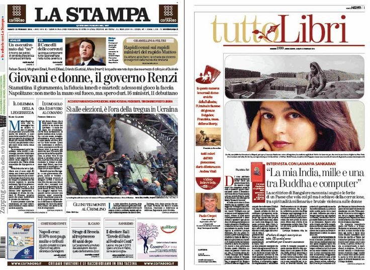 La Stampa   Tutto Libri - 22.02.2014  Italian | True PDF | 80   8 Pages | 11   1 MB