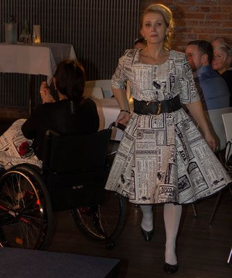 Modenschau Orthoka - Modeatelier klennes