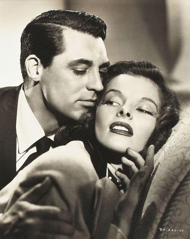 """Cary Grant y Katharine Hepburn en """"La fiera de mi niña"""", 1938"""