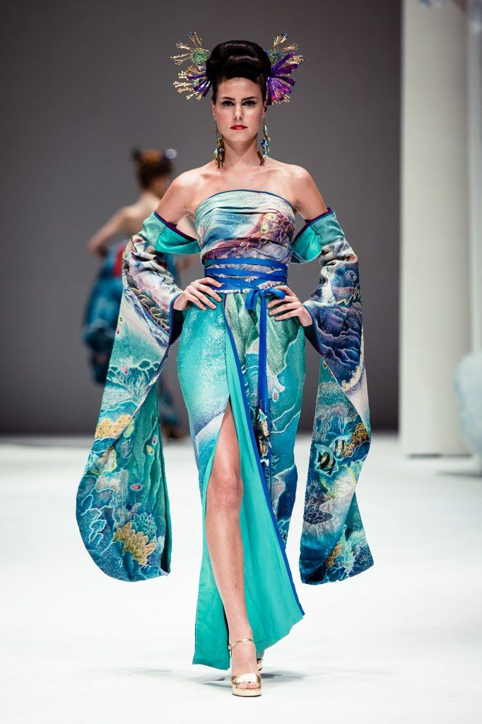 haute couture japanese  | Asian Couture FW. Day 2 - haute|hot couture news