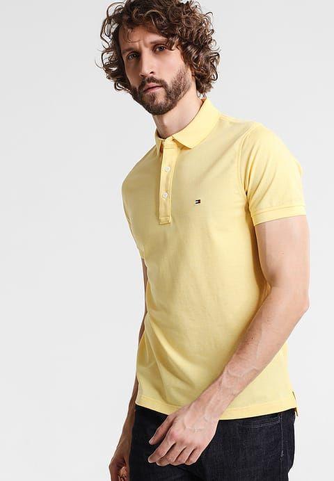 Kleding Tommy Hilfiger LUXURY SLIM FIT - Poloshirt - yellow Geel mêleerd : € 69,95 Bij Zalando (op 3-6-17). Gratis bezorging & retour, snelle levering en veilig betalen!