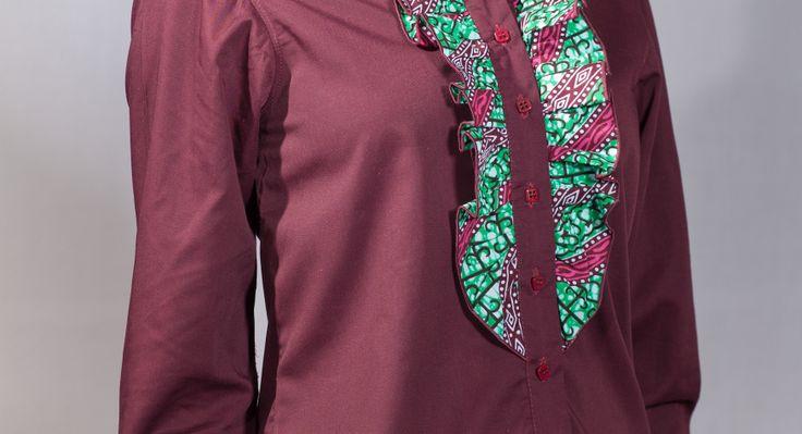 Chemise femme Kara de la marque Kévé  www.keve.fr