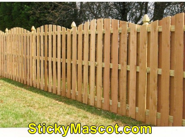 Gorgeous Wood Fence Uneven Ground Wood Fence Backyard