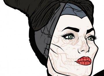 Angelina Jolie Maleficent Ultimate Xray