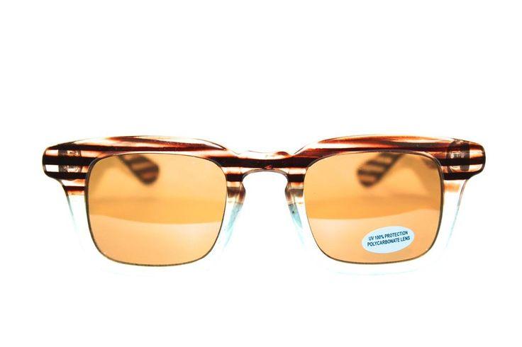 Brown Zebra Sunglasses - OLK 15071  | Discount Sunglasses