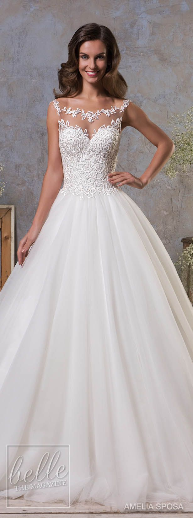 The 25 Best Puffy Wedding Dresses Ideas On Pinterest