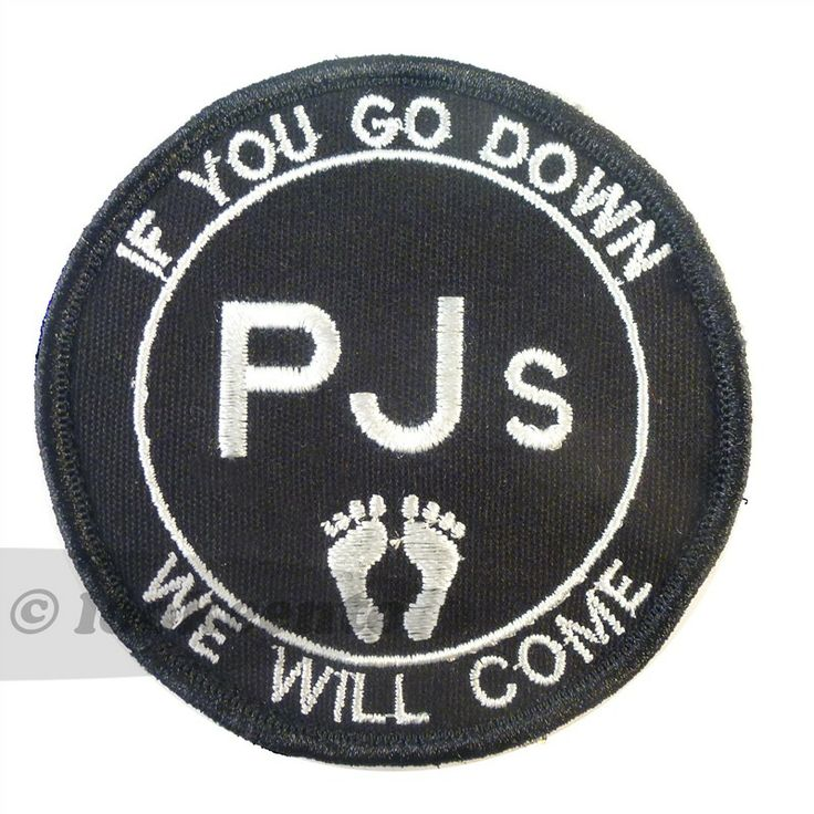 """USAF pararescue jumper (PJ's) """"if you go down we will come"""" patch. Freeshipping worldwide.$9.454"""