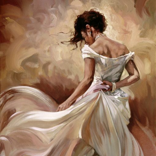 Paintings By Mark Spain  Art Latinspanishmexicanpuerto Ricanhispanic Culture And Paintings  Art, Woman Painting, Dance Paintings-1274