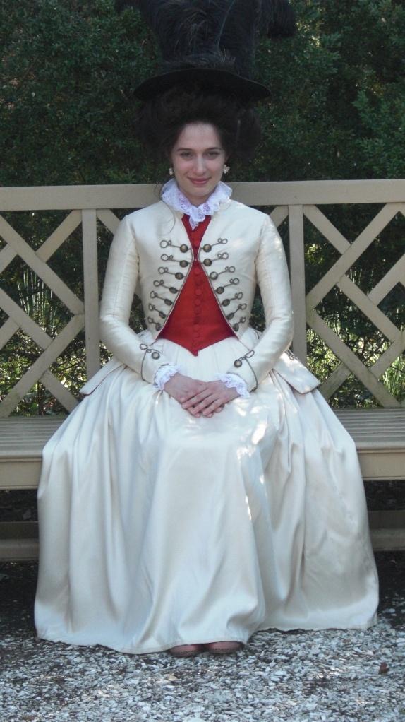 1780s White Riding Habit(2009)