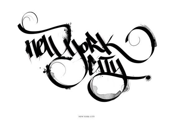 Calligraphy Inspiration. Beautiful!