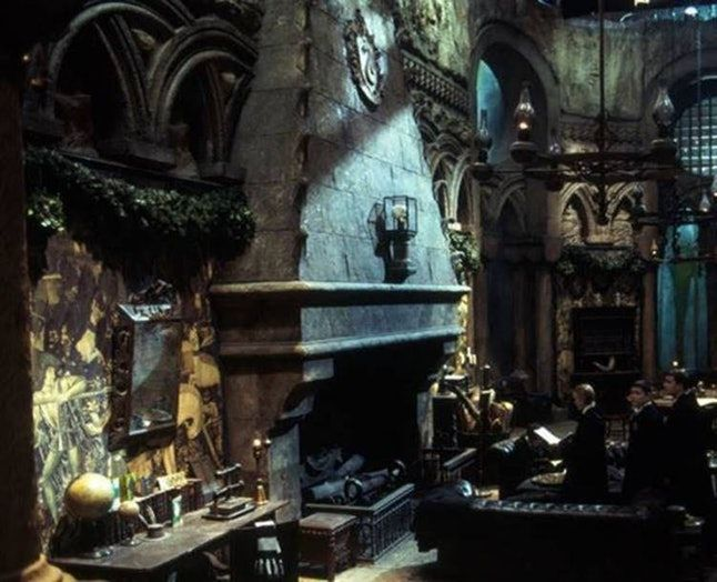You Can Now Visit The Slytherin Common Room At Warner Bros Studio Tours Slytherin Hogwarts Slytherin House