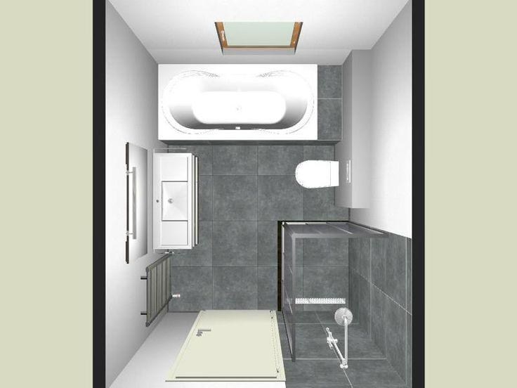 De 9 beste afbeeldingen over badkamer op pinterest toiletten labels en deuren - Idee schilderen ruimte ontwerp ...