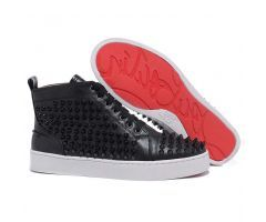 Best Cheap Christian Louboutin Louis Black Spikes High Top Men's Sneakers CODE: Christian Louboutin 2018 List price: $995.00   Price: $178.00 You save: $817.00 (82%) http://www.bestpricechristianlouboutin.com/best-cheap-christian-louboutin-louis-black-spikes-high-top-mens-sneakers.html