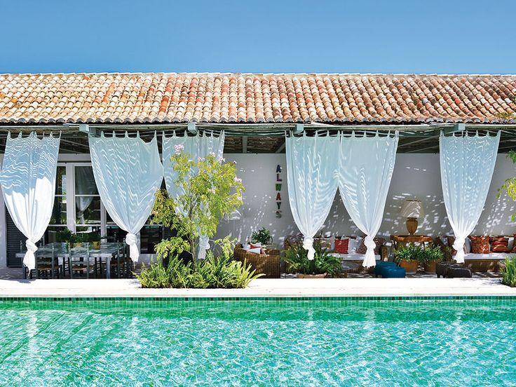 Fotos de casas con piscina casa de dormitorios y baos con - Miraconcha casa rural ...