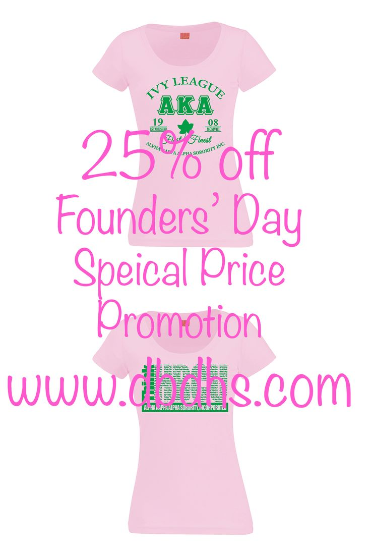 AKA Founders' Day 2016 SALE